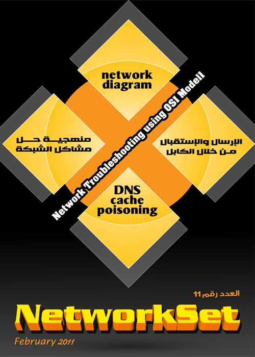 مجلة الشبكات العربية الاولى NetworkSet (عدد يناير 2011)