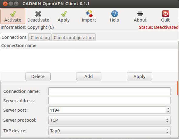 Gadmin VPN Client