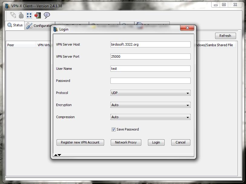 VPN X Client