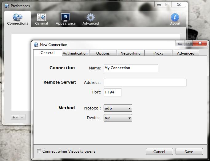 Viscosity VPN Client